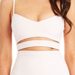 Nookie nude/blush Bridget Dress