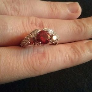 Jewelry - 14k Ruby size 10 ring