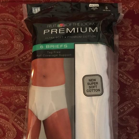 4b314e3a781fe0 Men s Fruit of the Loom Premium Briefs Underwear