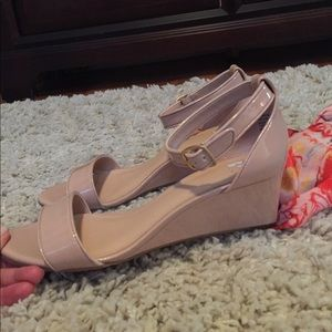 70cfbb1819a7 Roxie wedge sandal in blush patent