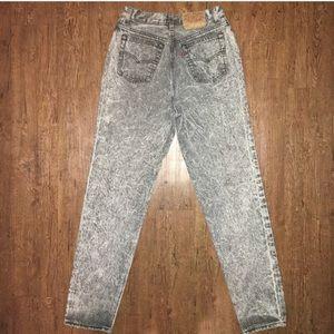 FINAL🌹Vtg Levi's Acid Wash Jeans