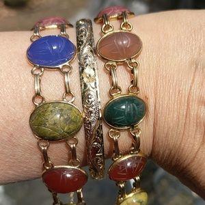 Jewelry - Scarab bracelets