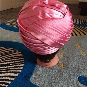 75e69d5890f Christian Dior Accessories - Vintage Christian Dior satin turban hat