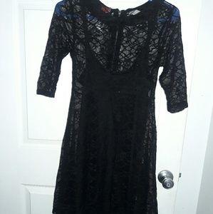 Tripp brand new quarter sleeve lacey dress