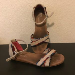 Ankle Wrap Sandals from Toms