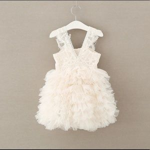 Girls gown,tulle gown dress,girl lace gown, gown
