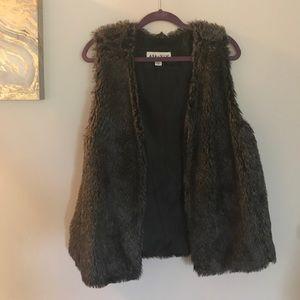 Jackets & Blazers - Ava & Viv Faux Fur Vest