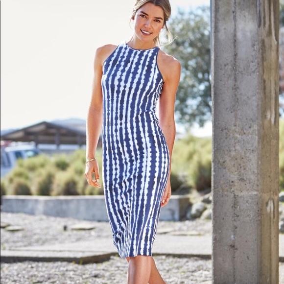 8728ee9192b Athleta Dresses   Skirts - Athleta Tidal Midi Dress