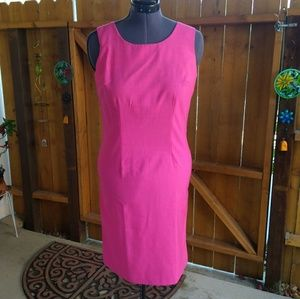 Sue Brett - Vintage Pink Sleeveless Dress