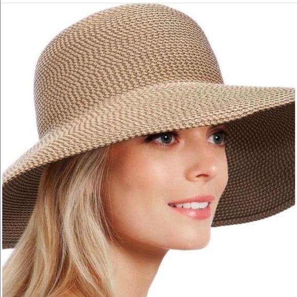 8586c51aec2f59 Eric Javits Accessories | New Wide Brim Squishee Hat | Poshmark