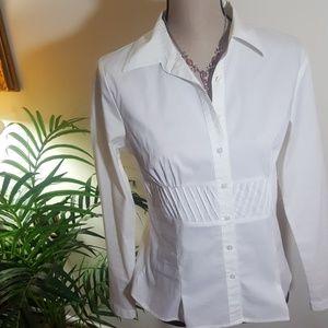 WHITE DRESSY SHIRT!