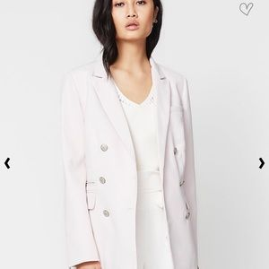 *NWT* Rachel Roy Blush Double Breasted Jacket