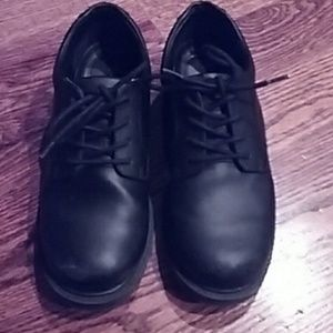 Other - Boys shoes scuffed at top of shoes