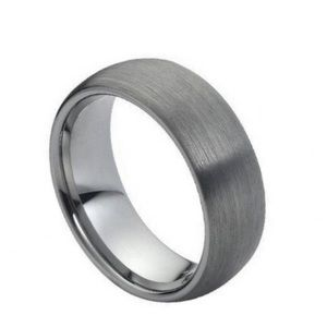 Other - Brushed domed tungsten ring