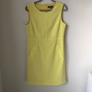 Nine West Sunny Yellow Shift Dress