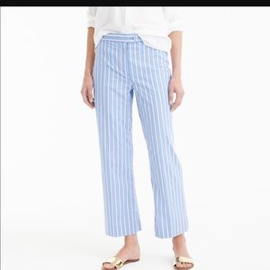 J crew Perri polly stripe pants