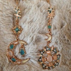Trend Setter Diva Collection Jewelry - LAST 1! New Sun & Moon earrings