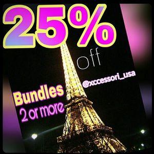 🌟🌟25% OFF 2 BUNDLED ITEMS🌟🌟