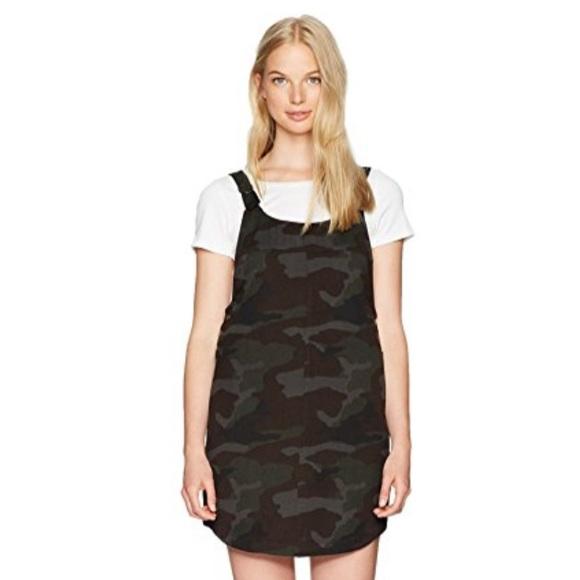 ead1f47d4 RVCA Dresses | Camo Overall Dress | Poshmark
