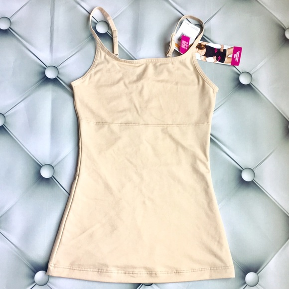 8d2812b4105 Flexees maidenform nude shaping slimming tank top