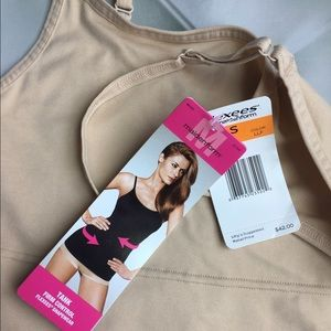 ae35dd08814 flexees Tops - Flexees maidenform nude shaping slimming tank top