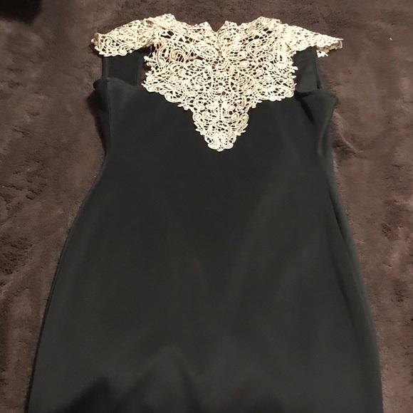 b2bc3b7bda1 a gaci Dresses   Skirts - A gaci high neck lace detail halter dress
