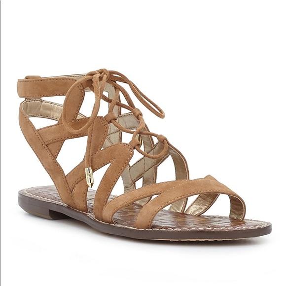 bac9e505c07cc Sam Edelman  Gemma  lace up sandal size 6. M 59928009ea3f367c33192b5d