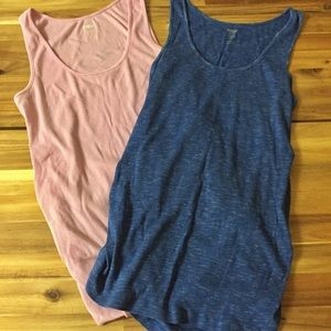 Maternity tank top bundle size large