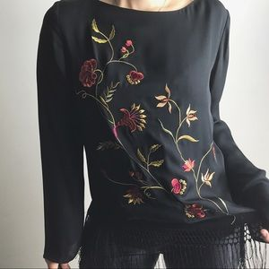 Tops - JOSEPHINE/ embroidered blouse