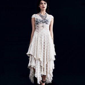 Dresses & Skirts - 💍Hippie Ruffle Maxi Layered Lace Dress, S-XL