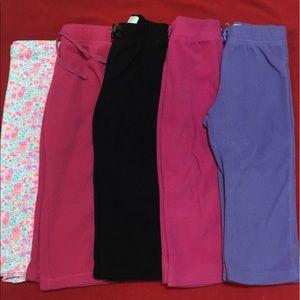 Girls 2T lot of Pants EUC