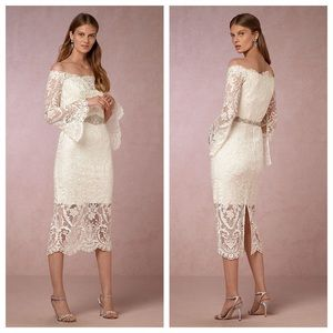 Anthropologie Emilia dress from BHLDN collection