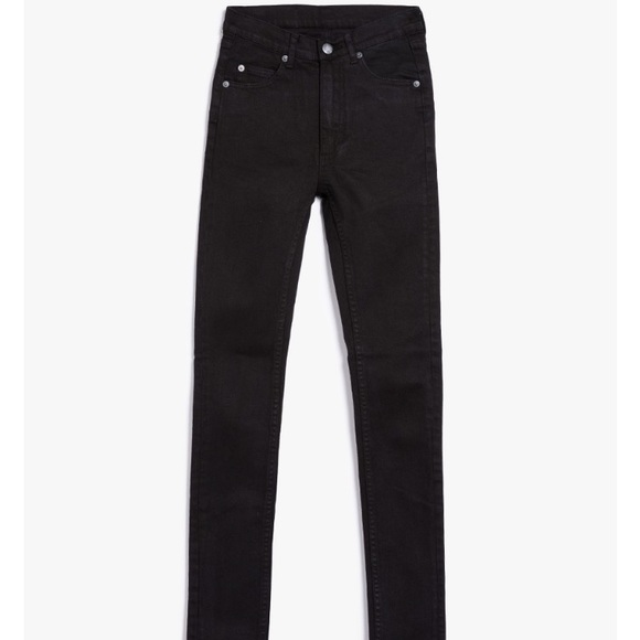 e41ebecb892b Cheap Monday Jeans | Second Skin Waxed Black | Poshmark