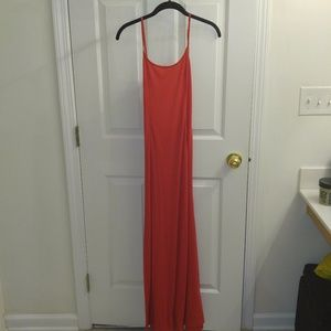 Dresses & Skirts - Red Backless Maxi Dress