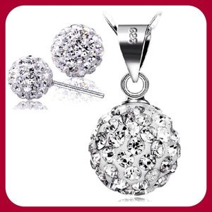 Jewelry - Crystal Ball Set