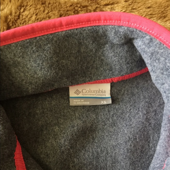Columbia Jackets & Coats - Columbia Vest, XS, pink & grey, NWT