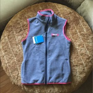 Columbia Jackets & Coats - Columbia Vest, XS, pink & grey, NWT