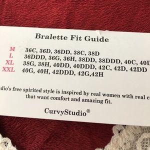 631251cd5094ee Curvy Studio Intimates   Sleepwear - 💥YOU ASKED! PLUS size 2XL Lace  bralette to