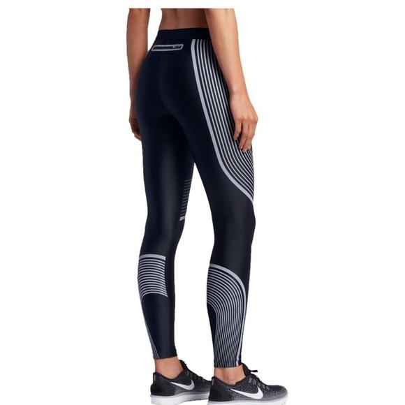 c8ce7face822e Nike Pants | Rare Powerspeed Tights Volt Womens Small | Poshmark