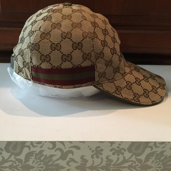 f76c0cb4e46 ✨Final ✨🎉HP🎉Gucci original GG hat (Authentic)