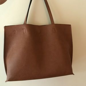 Urban Outfitters Bags - Urban Outfitters faux leather reversible tote bag dcf90efa3