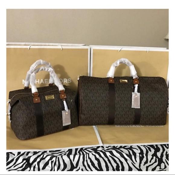 9290b45f015d NWT MK XL Travel Duffle   Large Weekender Bag