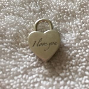 "Jewelry - Tiffany & Co. 925 ""I love you"" Pendant"