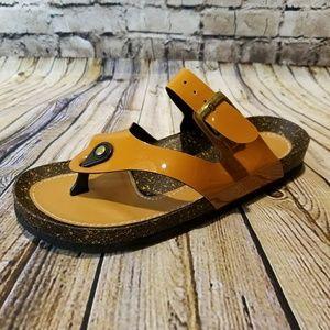 NEW Charcoal (Birk-like) sandal