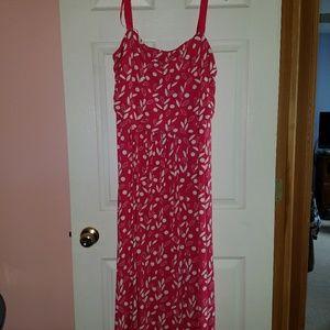 Pink & White Summer Dress