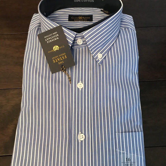 443c22c6d64 Macy's Club Room men's dress shirt NWT