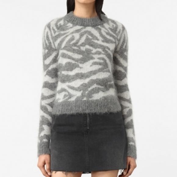 24943f5977e ALLSAINTS Animal Print Sweater. NWT. All Saints