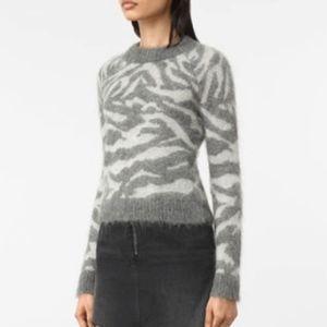 74bd12fc250 All Saints Sweaters - ALLSAINTS Animal Print Sweater