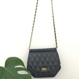 Handbags - Navy blue flap bag purse