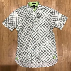 Tommy Hill figure button down shirt